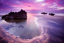 sunset fanore beach, Co Clare, Ireland