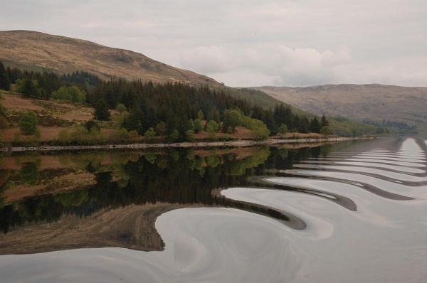 Ripples - Loch Katrine by GedC