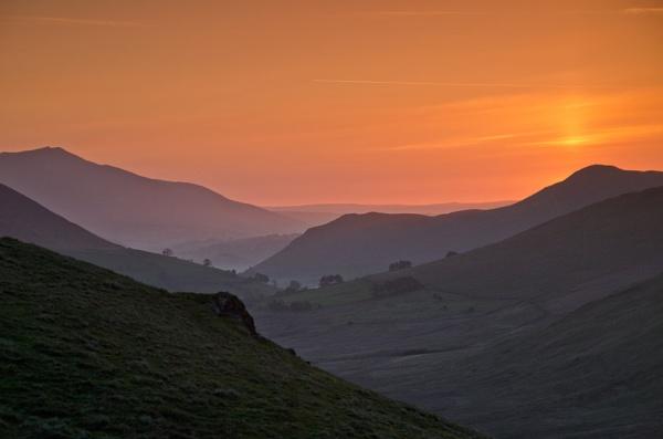 Layered Sunrise by ColouredImages