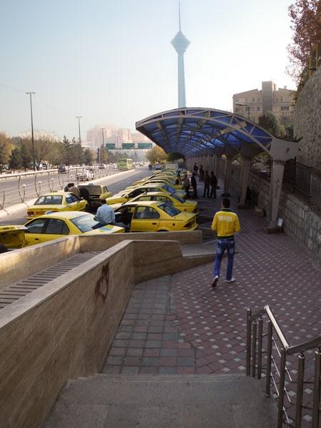Sanat Square Taxi Station by kombizz