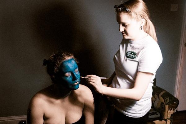UV Smurfs! by blindingphil