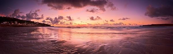 Last Light at Whitesand Bay by BillyGoatGruff