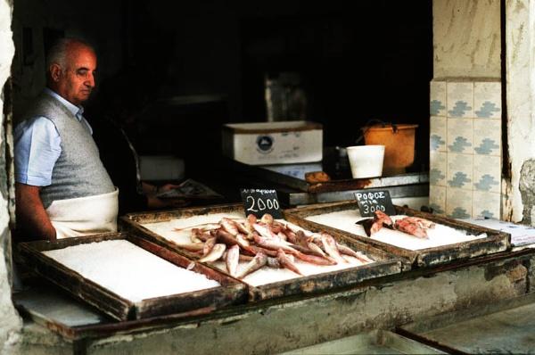 Fish Shop, Corfu by lonely_oryx