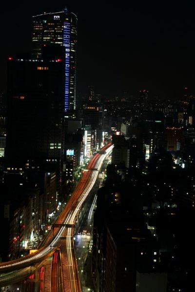 Tokyo Skyline 2 by WorldInFocus