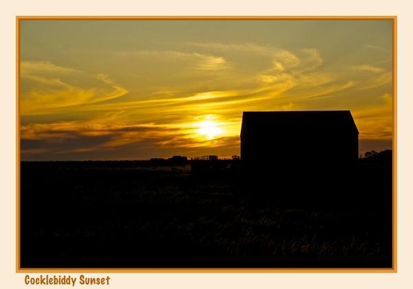 Cocklebiddy Sunset by Joeblowfromoz