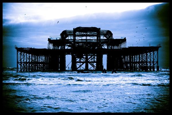 Brighton Skeleton by havecamerawilltravel