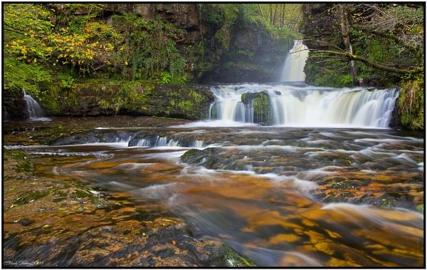 Sgwd Ddwili Uchaf, Pontneddfechan Waterfalls... by MD2009