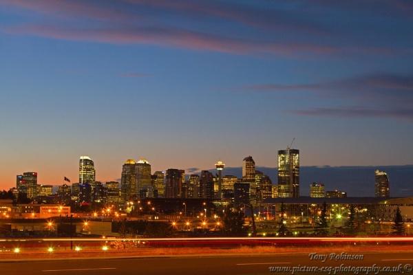 Calgary skyline by AR_Photography