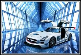 Mercedes SLSR
