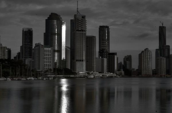 B & W  Brisvagas  Queensland, Australia by sooty_59