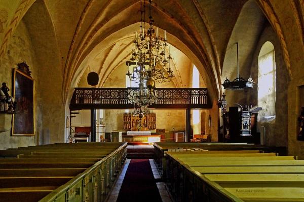 Korppoo church. by kuvailija