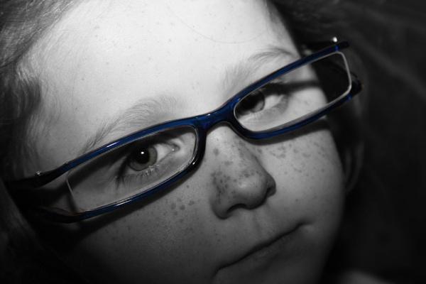 blue specs by xleex