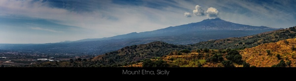 Mount Etna, Panoramic by paulcr
