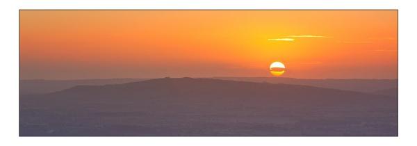 Sunrise Over Bredon Hill by DouglasLatham