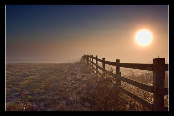 Sunrise on Elmley by tbrown
