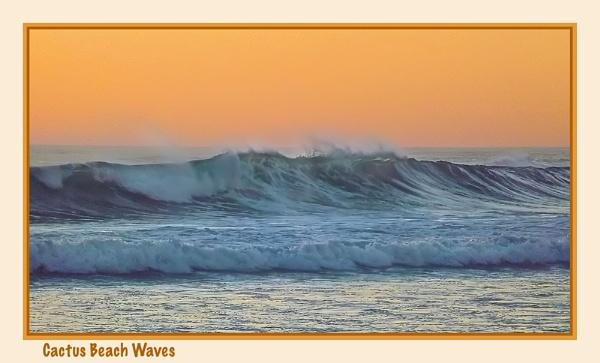 Cactus Beach Waves by Joeblowfromoz