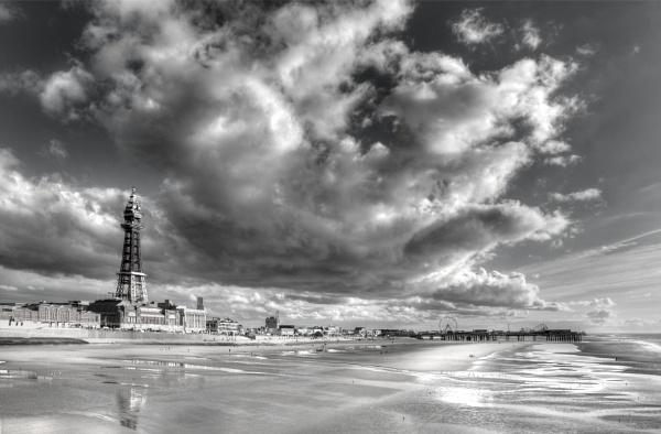 Blackpool Big Sky by maphotography