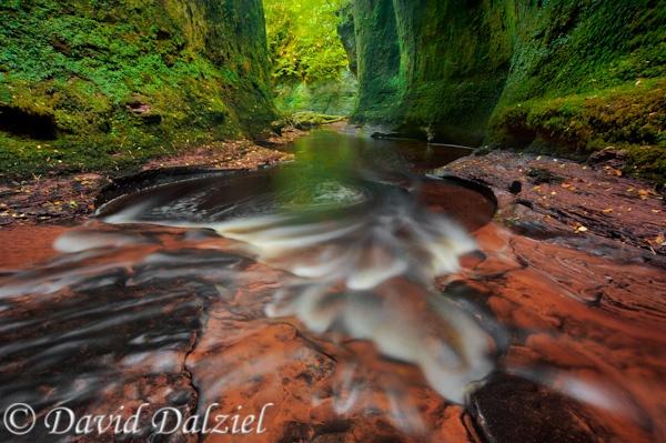 Carnock Burn, Finnich Gorge by David