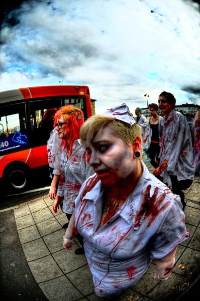 Zombie Walk - Peterborough 29/10/11 by WILBURFORCE