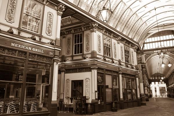 leadenhall Market London by hornchurch