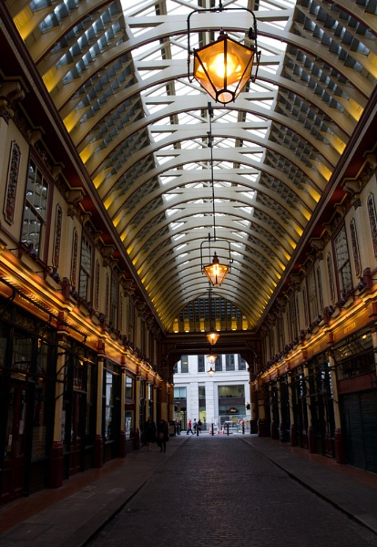 """Leaden hall Market London \"""" Tunnel Vision by hornchurch"""