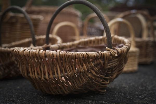 Woven Basket by Georden
