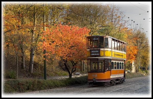 Autumn Tram Ride by Franko59