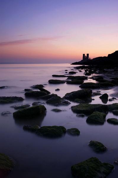 Reculver at sunrise by rjlaker