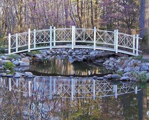Bridge in Spring by dollvr713