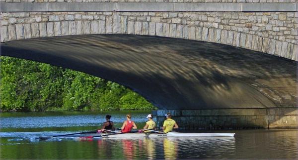 Carnegie Lake Rowers by dollvr713