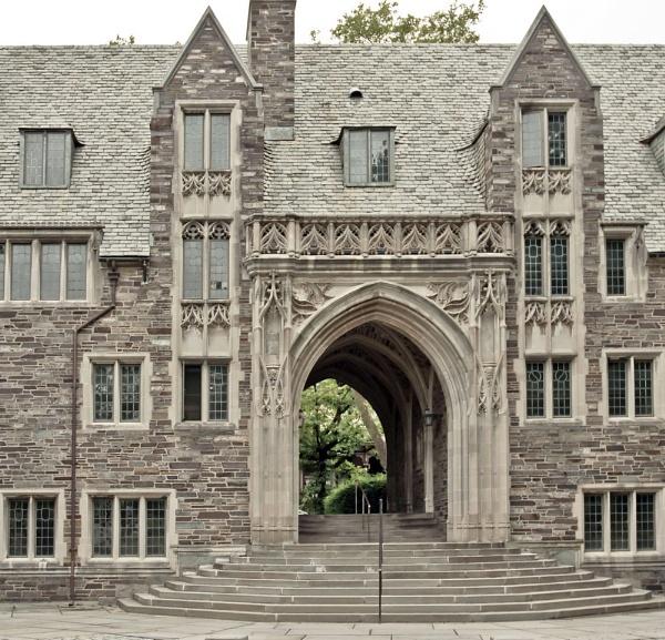 Passageway - Princeton University by dollvr713