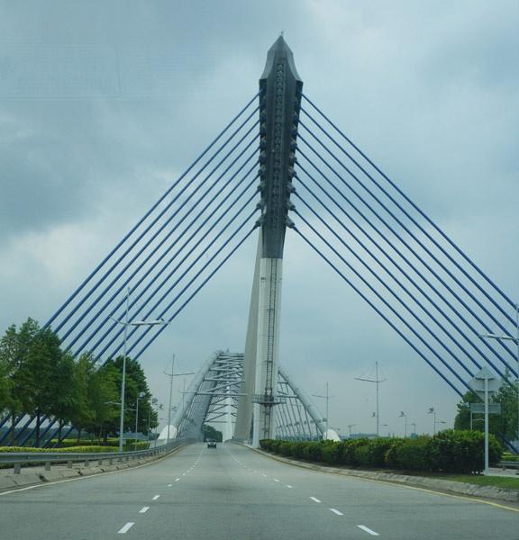 Putrajaya Bridge by kombizz