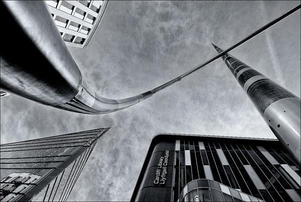 21st Century City Skyline by Platchet