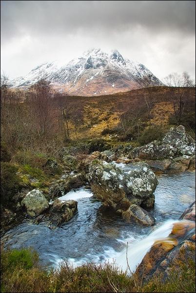 Mountain Falls by Platchet