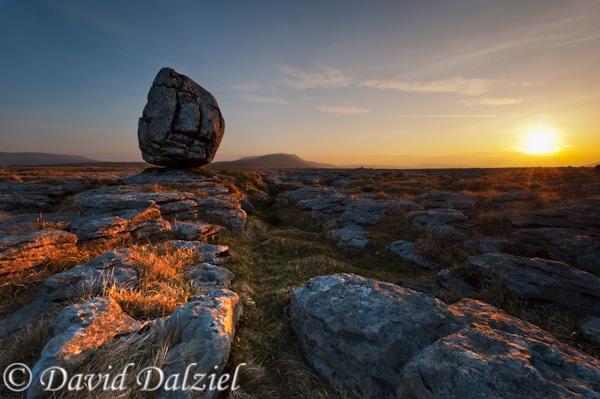 Sunrise, Twistleton Erratic by David