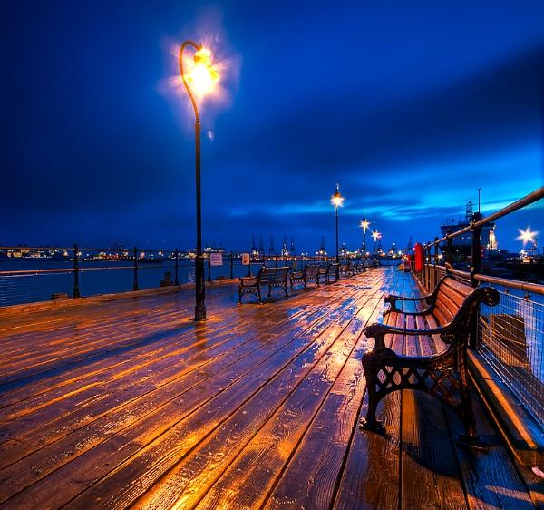 Halfpenny Pier, Harwich by pdsdigital