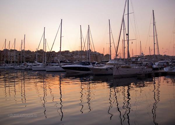 Majestic Grand Harbour. Valetta. Malta by Y_M