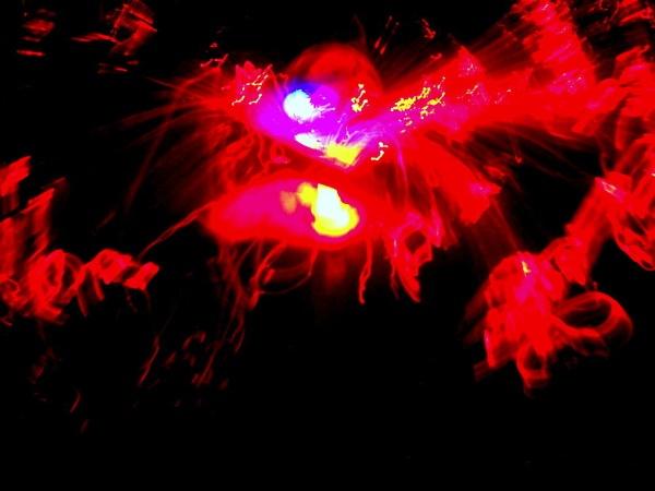 The lighting smoke. by BHUBAN