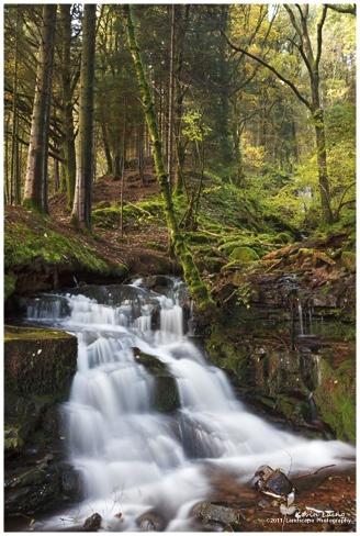 Nant Bwrefwr Falls by Kevin_L