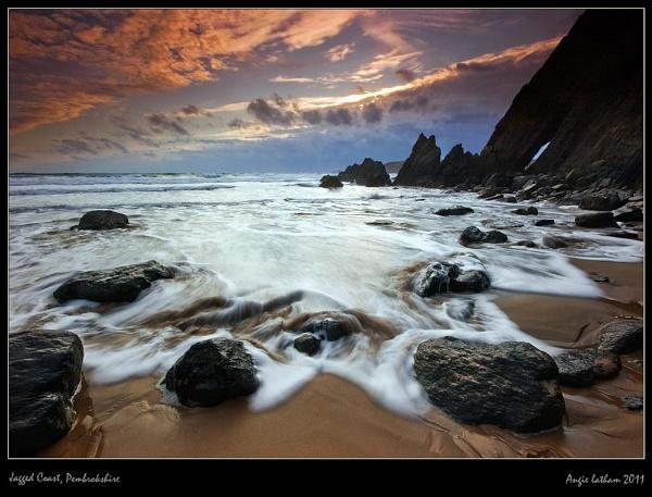 Jagged Coast , Pembrokshire by AngieLatham
