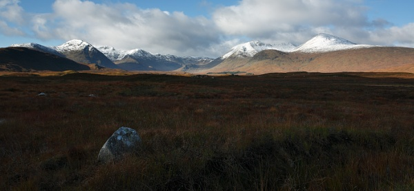 Early Snow on Rannoch Moor by Nigel_95