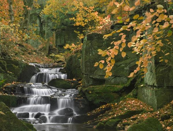 Lumsdale Falls by AndyMurdo