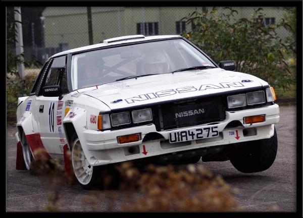 Nissan rally Car by BillyBunter