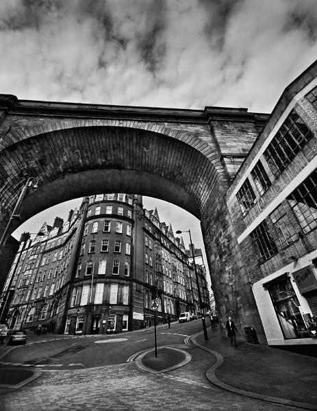 Newcastle Railway Viaduct by stormcrowuk