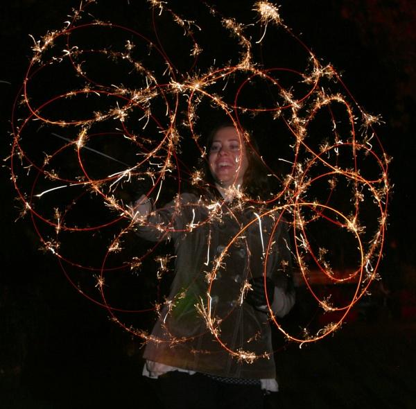 Sparkler Spiral by MGathercole