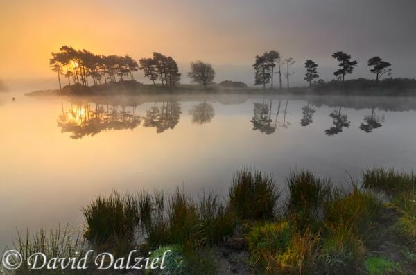 Misty Sunrise, Knapps Loch by David