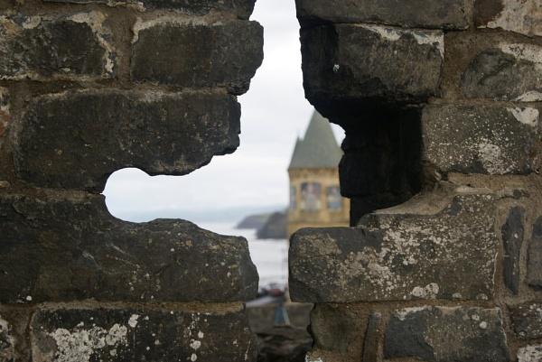 Aberystwyth Castle by foreverawhite