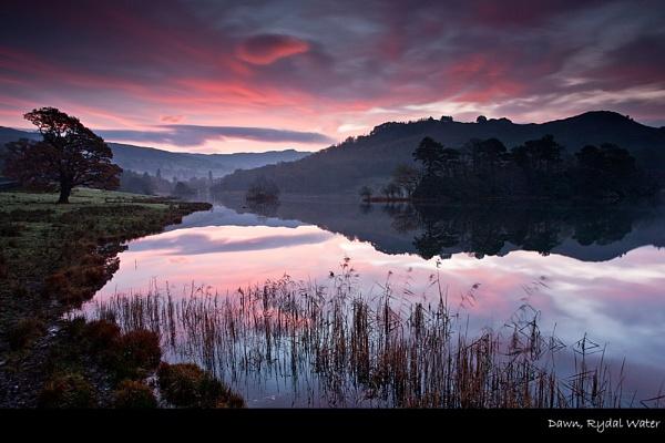 Dawn, Rydal Water by stevie