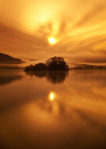 Llangors Sunrise by madmatt