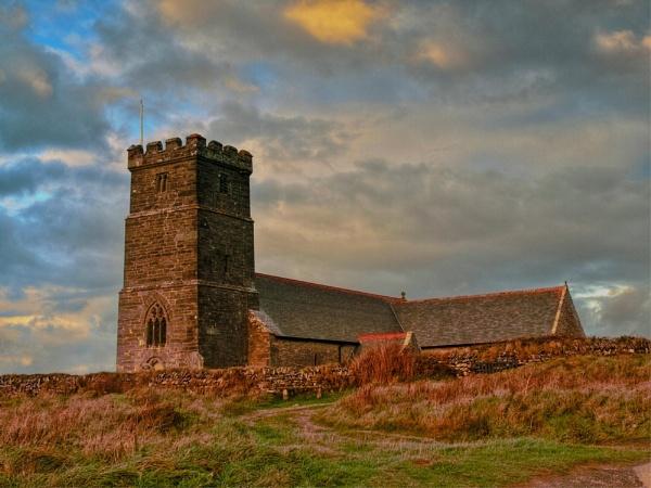 Tintagel Church by Alandyv8